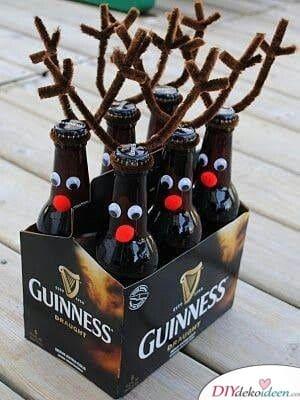 Weihnachtsgeschenke für Männer – Rentier-Bierkasten