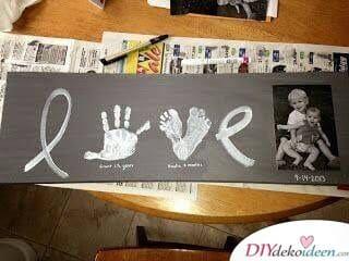 LOVE Bild für Großmutter