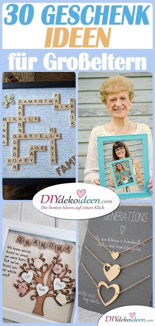 30 Geschenk Ideen Für Großeltern Geschenke Für Großeltern