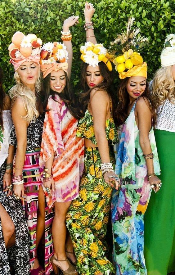 Fruchtige Outfits für den Junggesellinnenabschied