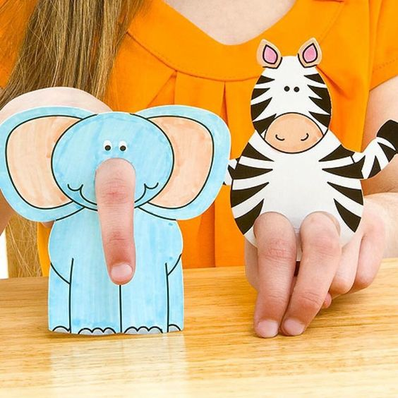 Fingerpüppchen - Geschenke für 7 Jährige