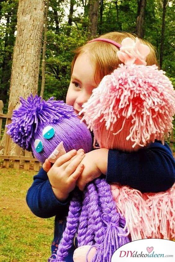 Handgemachte Geschenke für Kinder – Wollmonster