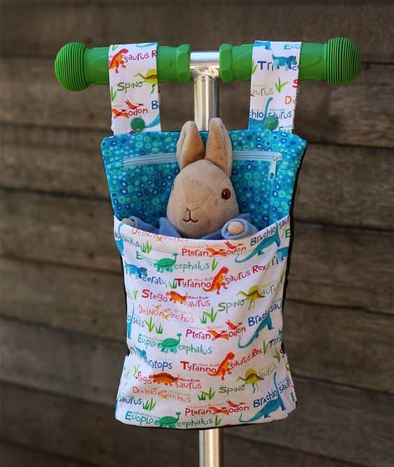Rollertasche - kleine Geschenke für Jungs basteln