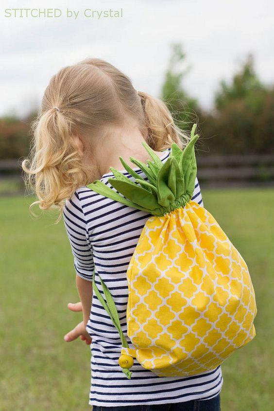 Ananas-Rucksack