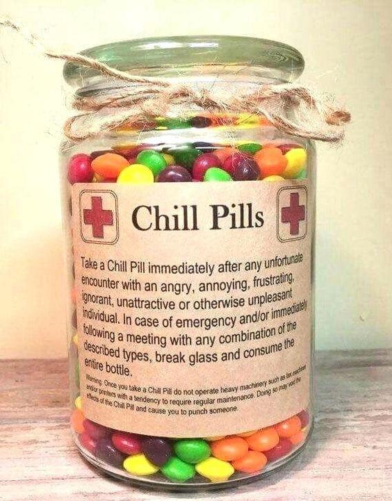 Chill-Pillen - Geschenk für den Bruder selber machen
