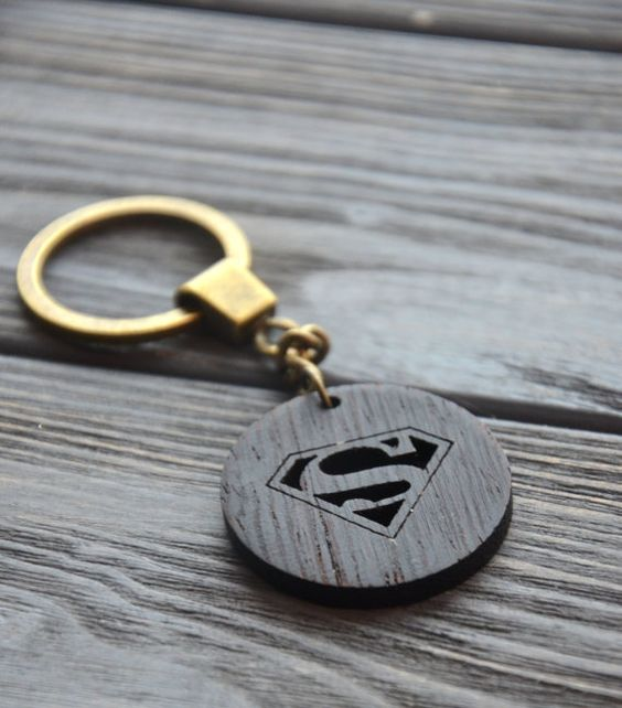 Superman keychain - gift for the little brother