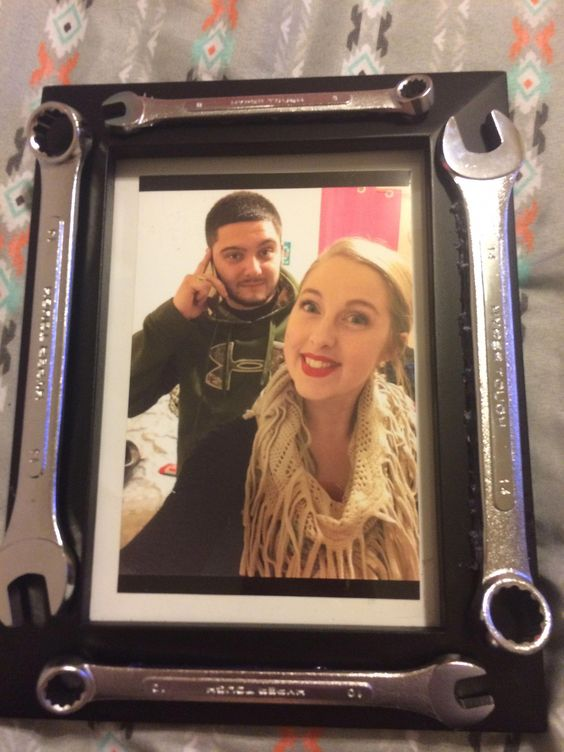 Gift for the Brother - Screw Key Picture Frame