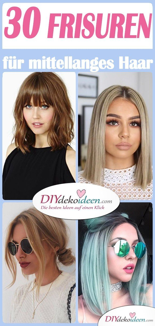 Frisuren mittellanges haar gestuft modern
