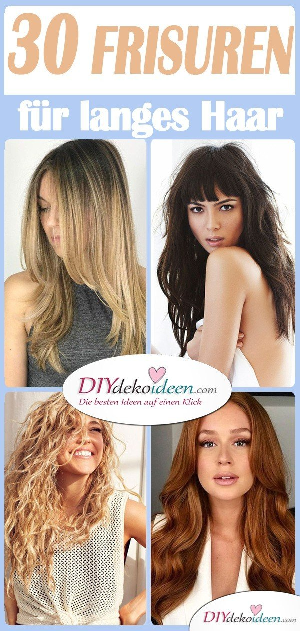 The 30 most beautiful hairstyles for long hair - 30 long hairstyles