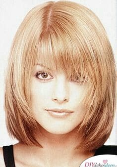 Frisuren für feines Haar – Stufenschnitt