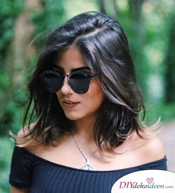 Frisuren für dünne Haare – langer Bob