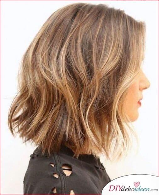 Strähnchen für Frisuren für feines dünnes Haar