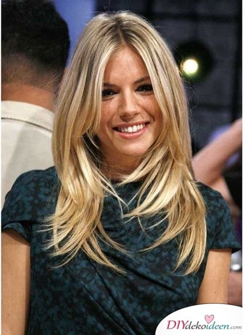 Fransenschnitt - schöne Frisuren für lange Haare