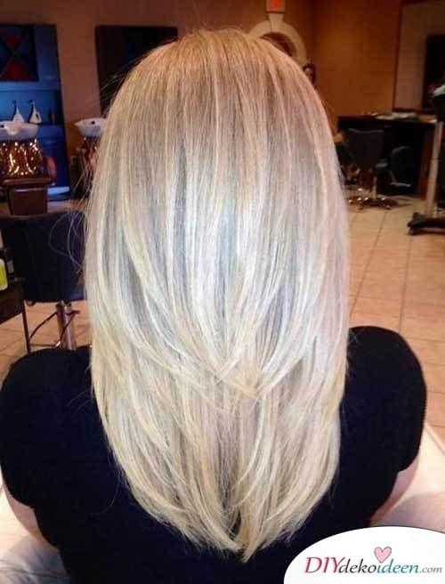 Stufenschnitt - Frisuren für lange Haare