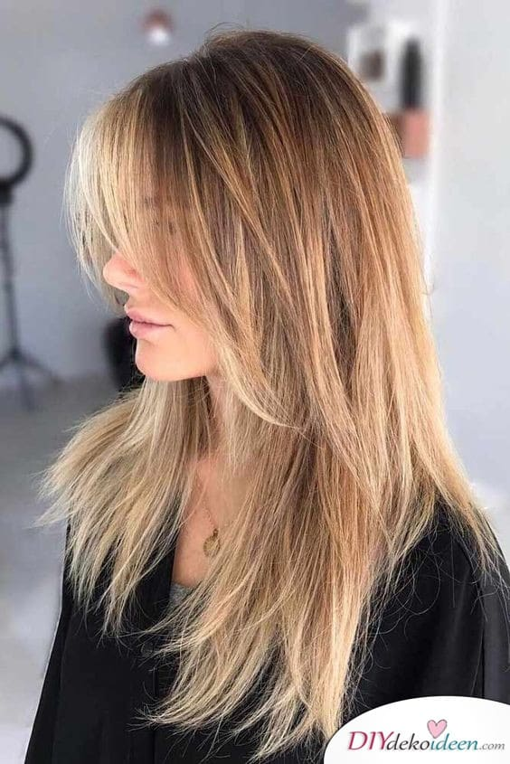 Stuf Cut with Stretches - Long Hair Hairstyles