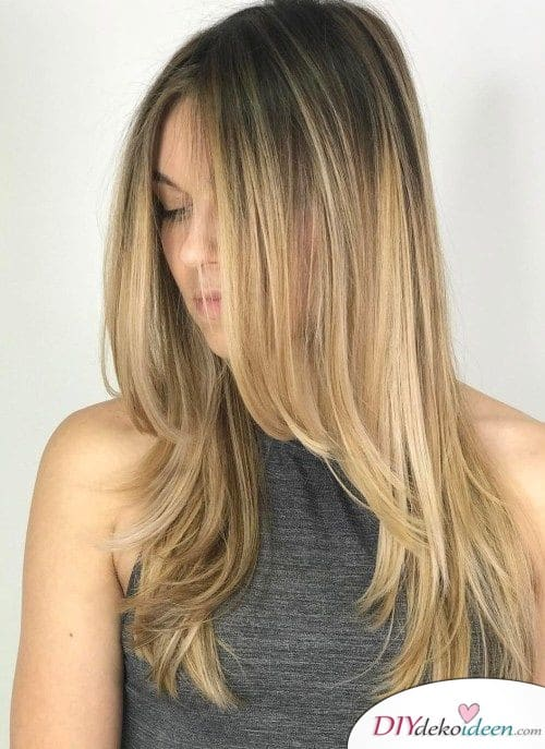 Hairstyles for long hair - Step cut