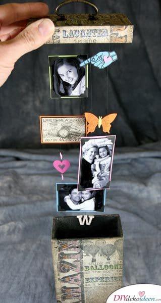 Ausklappbare Fotobox - Geschenke für Frauen zum Geburtstag