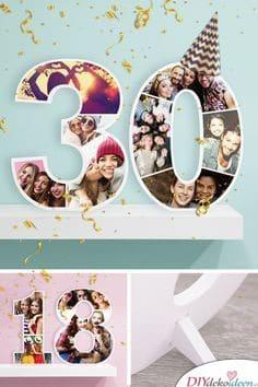 Fotozahlen - Geschenkideen für Frauen zum Geburtstag