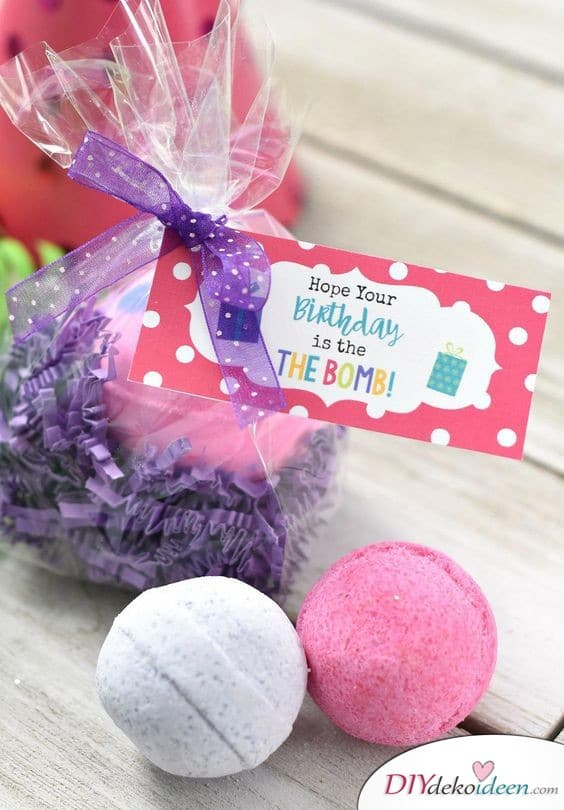 Bath Bombs - Gift Ideas for Women for Birthday