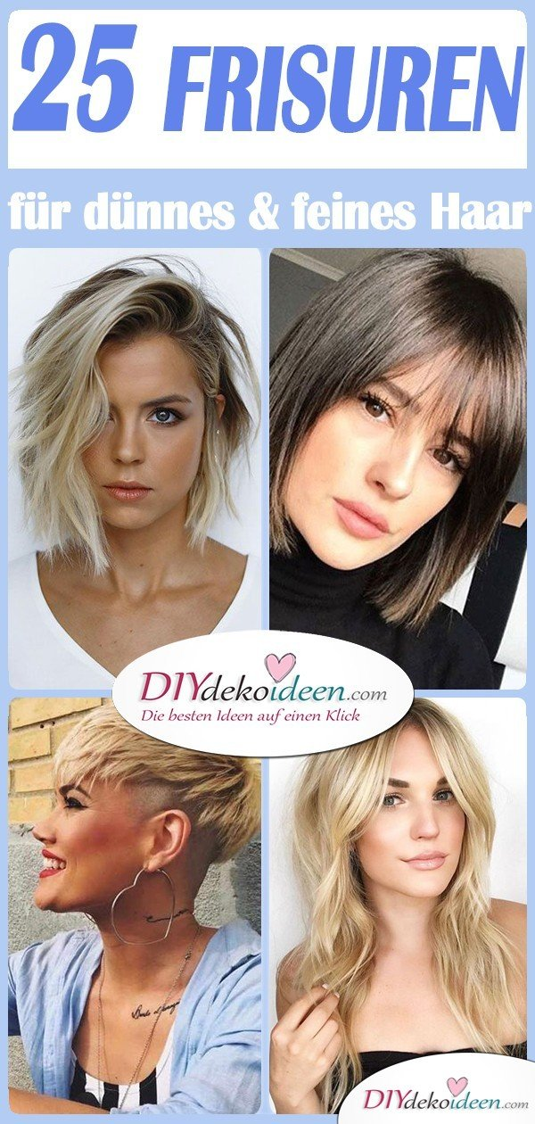 25 Hairstyles For Fine Thin Hair - The Most Beautiful Hairstyles For Fine Hair