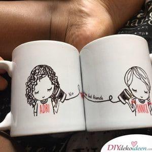 Freundschaftskaffeetassen – Geschenkideen