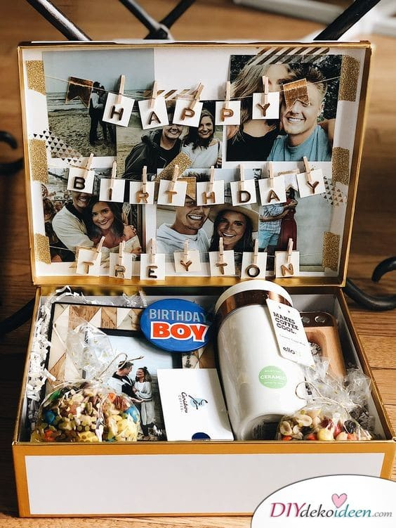 Gifts for Men for Birthday - Birthday Box
