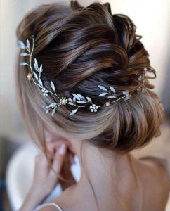 Hairstyle with Dutt - Wedding Hairstyle for Medium Hair Self-Making