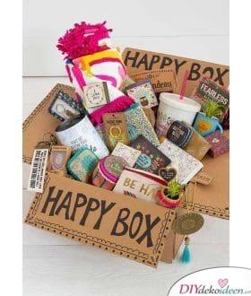 Happy Box - Geschenkideen für die beste Freundin