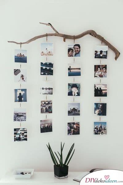Hängende Fotogalerie - kreatives Geschenk für die beste Freundin