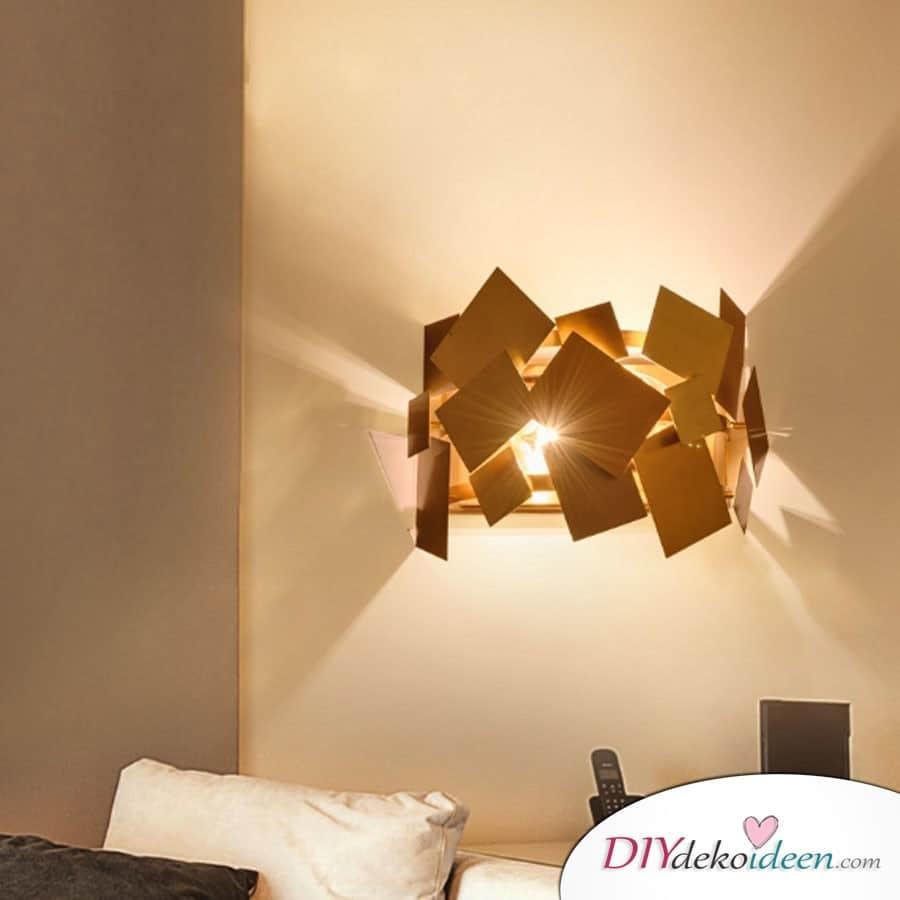 Wandlampe - Wohnung dekorieren