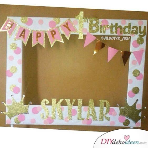 Fotorahmen - Geburtstagsgeschenke Ideen