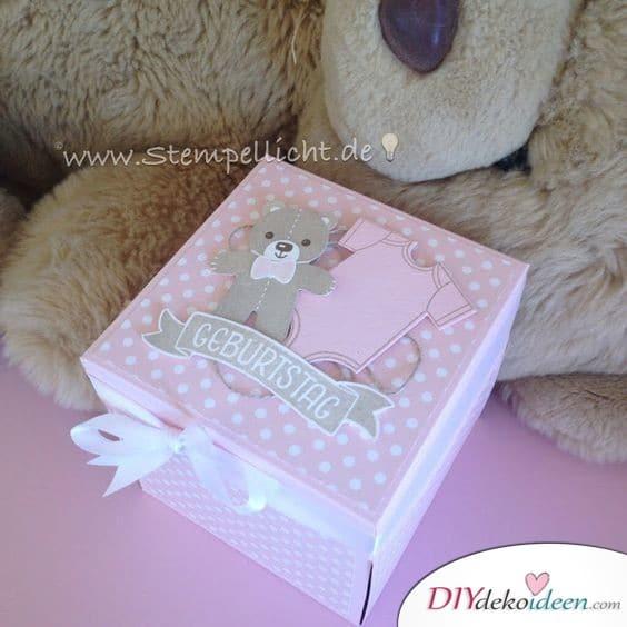 Geburtstagsbox - Geburtstagsgeschenke Ideen