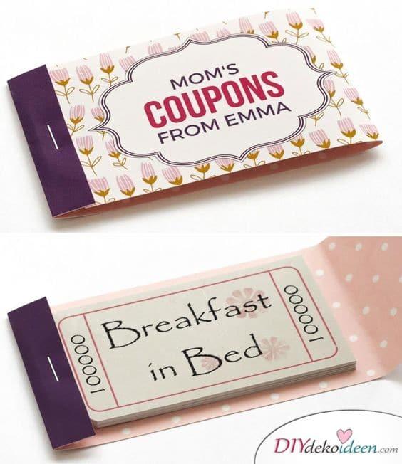 Mamas Coupons - Geburtstagsgeschenke für Mama