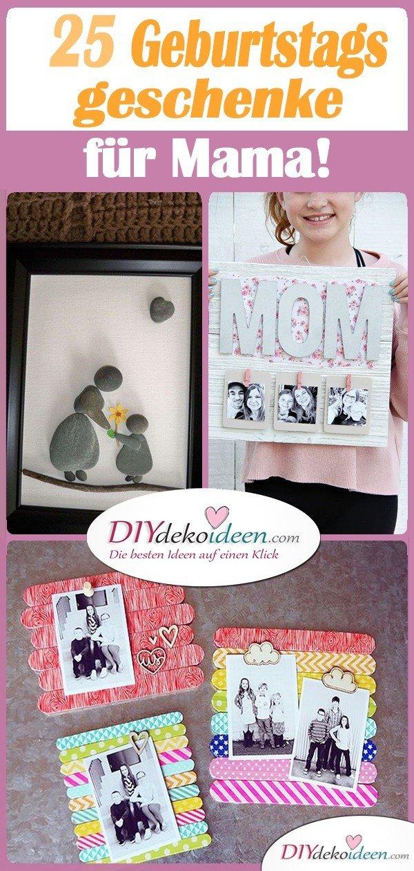 25 Geburtstagsgeschenke für Mama - Schöne Geschenkideen für Mama