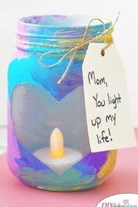 Candle Glass - Birthday Gifts for Mom