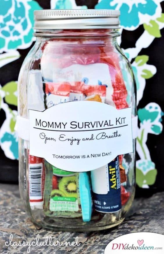 Mamas Überlebensset - Geburtstagsgeschenke für Mama