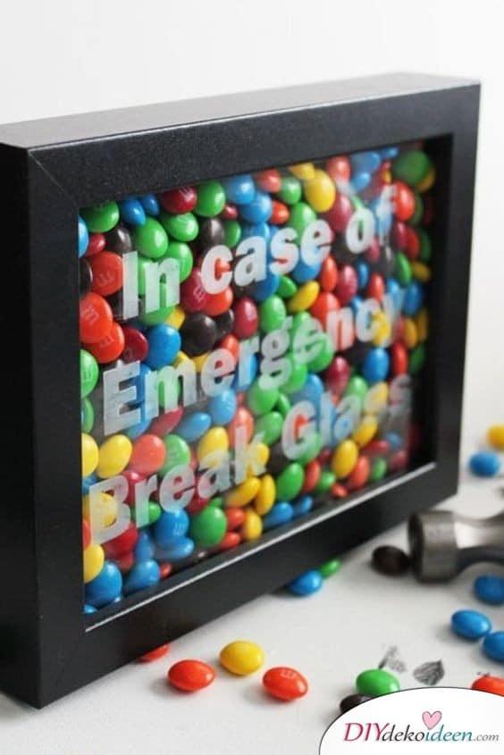 Geburtstagsgeschenk für die Schwester – Süßigkeiten-Notfallausrüstung