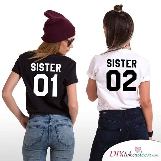 Printed Shirts for Sisters - Gifts for the Sisters