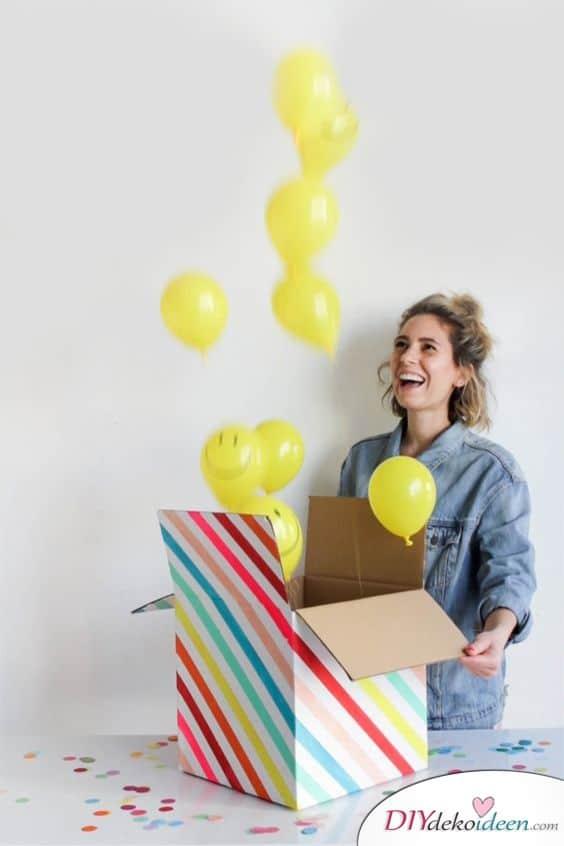 Überraschungsbox - Geschenke für die Schwester