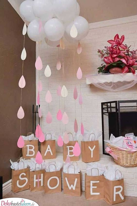 Baby Party Deko – Regenwolke