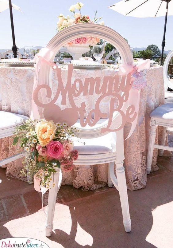 Mamas Stuhl – Babyparty