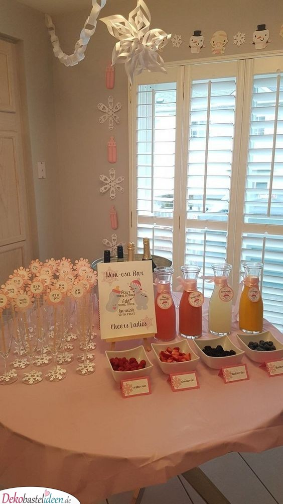 Drinkable - Baby Party Ideas