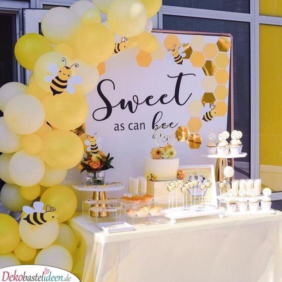 Süß wie eine Biene - Baby Shower Deko