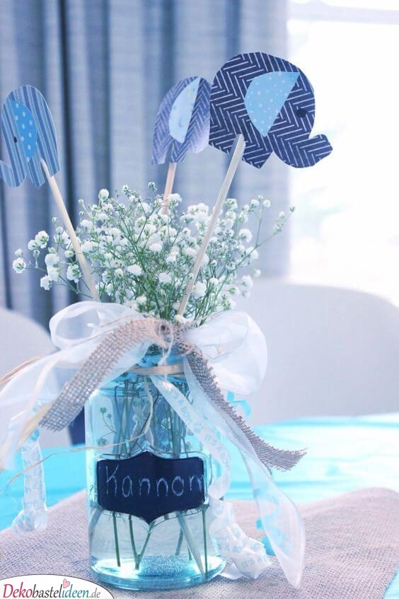25 Super Babyparty Deko Ideen Zum Selbermachen Baby Shower