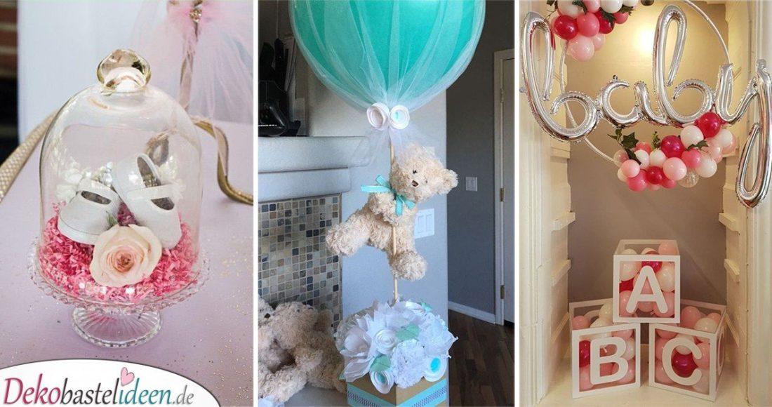25 Super Babyparty Deko Ideen Zum Selbermachen Baby Shower