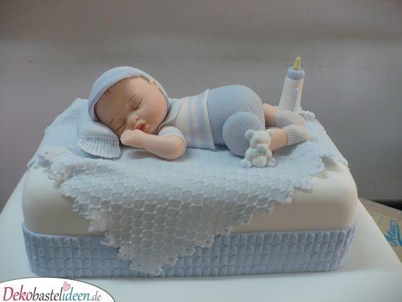 Ein schlafendes Baby – Den perfekten Kuchen backen