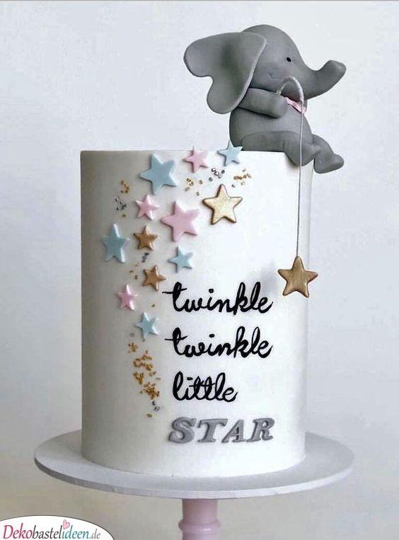 Funkel funkel kleiner Stern – Ein Kuchen voller Sterne