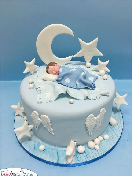Gute Nacht – Torte mit Sternen