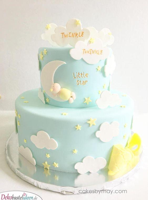 Mondlicht-Torte – Ein Sternenhimmel