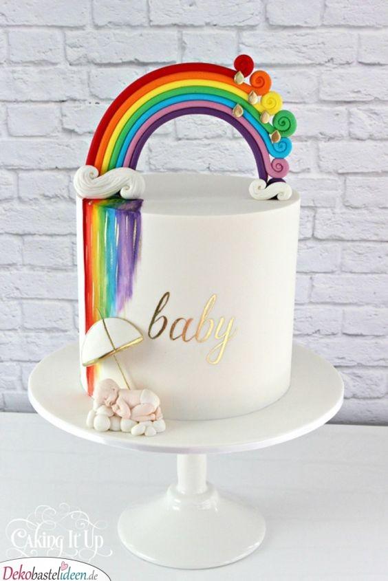 Rainbow Torte - Large Kuchenideen